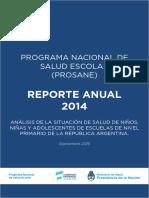 Reporte Anual 2014_PROSANE