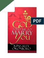God Told Me To Marry You - Kingsley Okonkwo.pdf