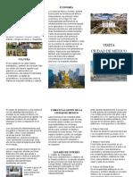folleto guia de ciudad de mexico