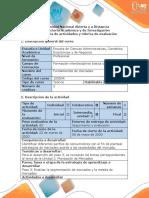 Guía de actividades y rúbrica de evaluación - Paso 5 - Realizar la segmentación de mercados y la mezcla de mercadeo.pdf