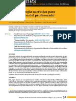 CONTRERAS- UNA PEDAGOGÍA NARRATIVA PARA LA FORMACIÓN DEL PROFESORADO.pdf