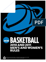 2010-11 Ncaa Wbb Rules