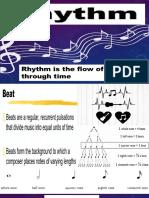 3. rhythm and tempo
