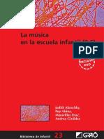 La Música en La Escuela Infantil (0-6)