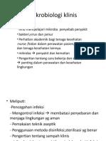 MIKROBIOLOGI KLINIS
