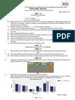 15A52101  Functional English qp