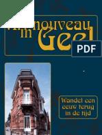 Art Nouveau in Geel