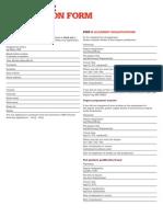 IMechE Associate Application Form