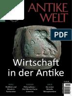 Antike Welt Zeitschrift für Archäologie und Kulturgeschichte No 01 2019