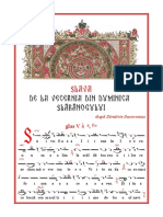 Slava La Duminica Slăbănogului După Dimitrie Suceveanu