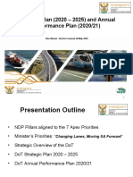 Transport Presentation 6 May 2020