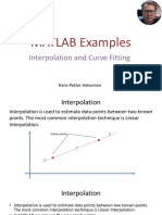 MATLAB Examples - Interpolation and Curve Fitting.pdf