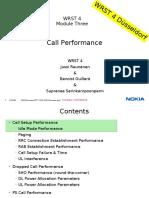 NSN Call Setup  Drop Optimisation