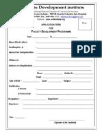 Form- FDP - 16-17