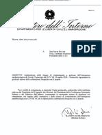 Protocollo Per La Ripresa Delle Celebrazioni Con Il Popolo 7 Maggio 2020