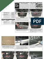 10 Up Gmc Terrain Grille Installation Manual Carid