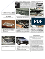 10 Up Mazda Cx9 Grille Installation Manual Carid