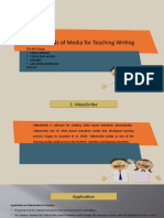 Kind of Media in Teaching Writing