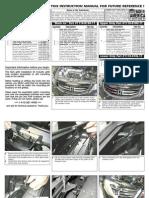 11 Up Honda Accord Sedan Grille Installation Manual Carid