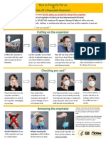 Disposable Respirator How-To