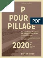P for Pillage 2020 - avec les données de 2019