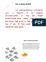 Luxary Brands