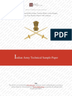 Army Technical Sample Paper 2