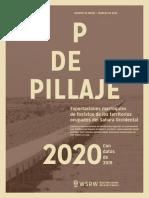 P de Pillaje 2020 – con datos de 2019