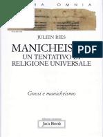 Julien Ries - Manicheismo. Un tentativo di religione universale (2011, Jaca Book).pdf