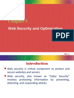 Unit 5 - Web Security and Optimization