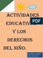 Actividades educativas  y los derechos del niño.pdf