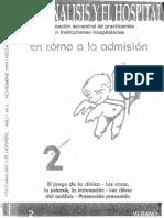 Psicoanálisis y el Hospital - 02 - En torno a la Admisión.pdf