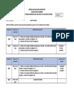 4° Primaria. Plan de trabajo - Inglés.