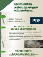 Yacimientos minerales de origen sedimentario