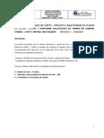 ESTUDO DE CURTO – CIRCUITO E SELETIVIDADE