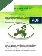 politica de mediu europeană