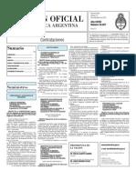 Boletin Oficial 12-11-10 - Tercera Seccion