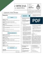 Boletin Oficial 15-11-10 - Primera Seccion
