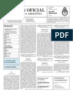 Boletin Oficial 15-11-10 - Segunda Seccion