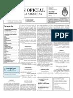 Boletin Oficial 17-11-10 - Segunda Seccion