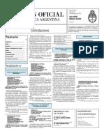 Boletin Oficial 19-11-10 - Tercera Seccion