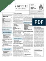 Boletin Oficial 23-11-10 - Tercera Seccion