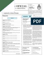 Boletin Oficial 29-11-10 - Primera Seccion