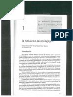 La evaluacion psicopedagogica cap. 1 y 2
