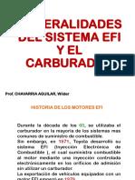 1 COMPARACIÓN DEL SISTEMA EFI Y EL SISTEMA CONVENCIONAL
