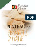 Plateau de Fromages d'Italie
