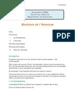 Biochimie de l'hemolyse.pdf