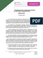 Seguridad, Contraindicaciones y Confianza en Vacunas - Dr. Norberto Giglio Editado PDF
