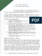 RL Drake TV-42-LP low pass filter Installation Manual