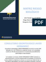 PRESENTACION DE MATRIZ RIESGOS BIOLOGICOS